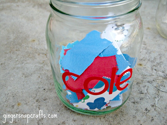 ticket jar kid's jars