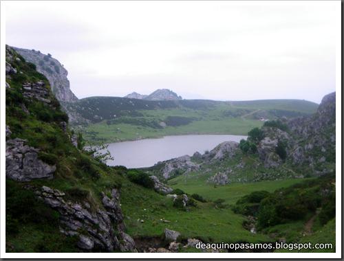 Poncebos-Canal de Trea-Jultayu 1940m-Lagos de Covadonga (Picos de Europa) 5176
