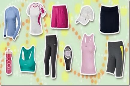 roupas esportivas leves
