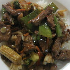 Marinated Beef Stir Fry