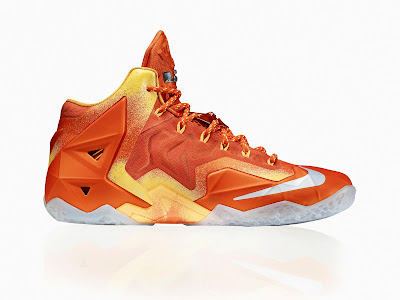 nike lebron 11 gr atomic orange 5 06 forging iron Official Unveiling of LEBRON 11 Forging Iron That Drops Next Month