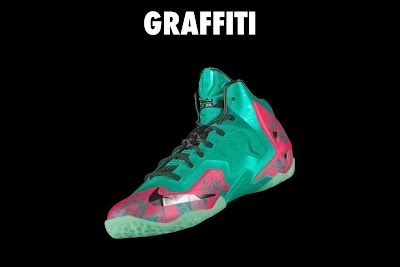 nike lebron 11 id graffiti 4 14 NIKEiD LeBron XI Graffiti in 7 Different Ways
