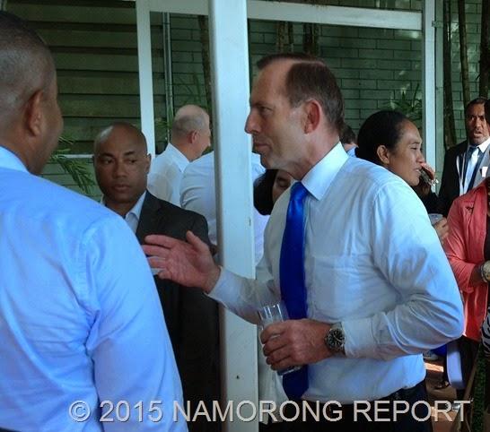 Abott meets emerging PNG Leaders