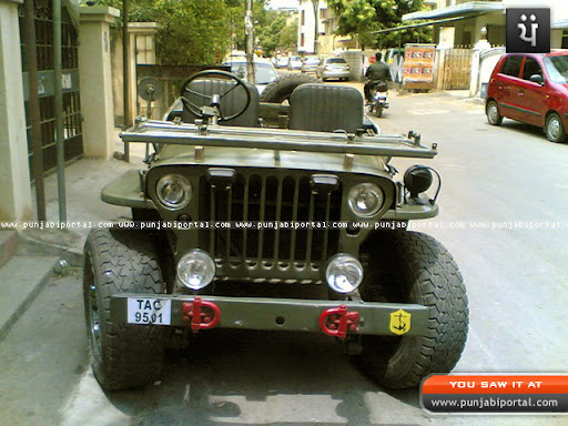Open Jeep in Punjab http://picasaweb.google.com/lh/photo/nWGfMkb02EJtI7qrpz50Qg