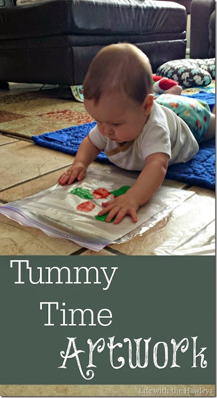 Tummy Time Artwork