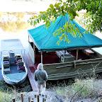 Meno a Kwena Tented Camp, Anlegestelle © Foto; Ulrike Pârvu | Outback Africa Erlebnisreisen