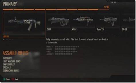 black ops 2 best multiplayer weapons 02 assault rifles