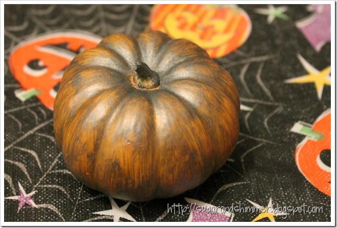 Painted Pumpkin - Orange