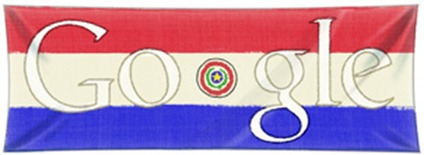 Paraguay's Independence Day-Google Logo