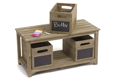 chalkboard crates
