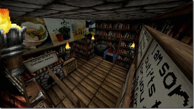 The Elder Scrolls V MineRim- Fall of Skyrim Screenshot 1