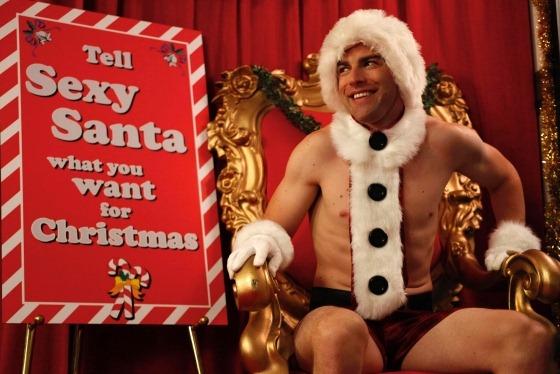 sexy santa schmidt