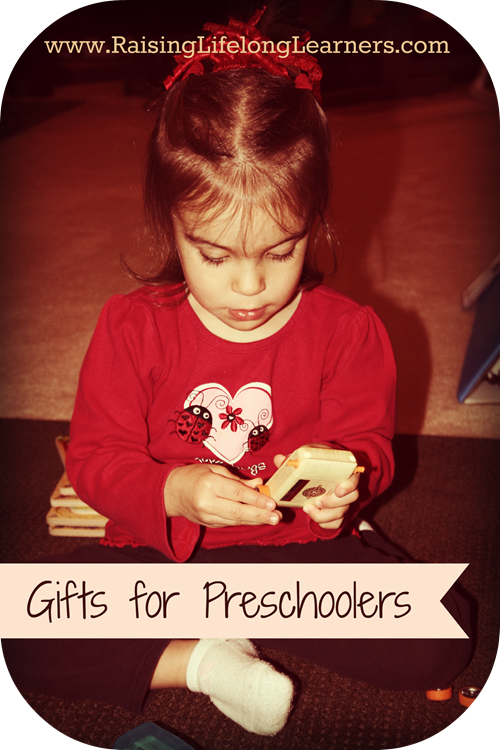 Gifts for Gifted Kids Preschool Gifts via www.RaisingLifelongLearners.com