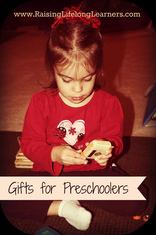 Gifts for Gifted Kids Preschool Gifts via www.RaisingLifelongLearners.com