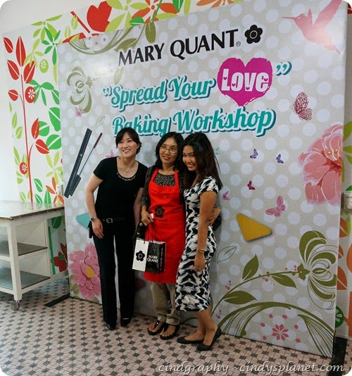 Mary Quant Baking Workshop47