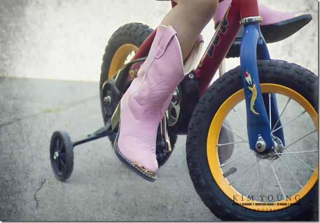 boots and bike