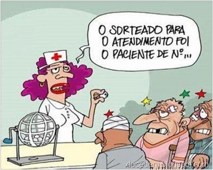 charge saúde