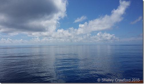 Calm ocean view