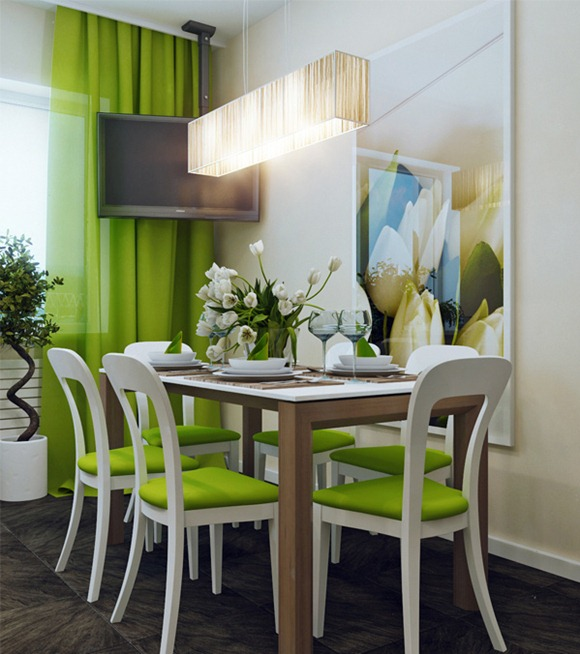 15 modernos dise os de comedores idecorar for Disenos de comedores de madera modernos