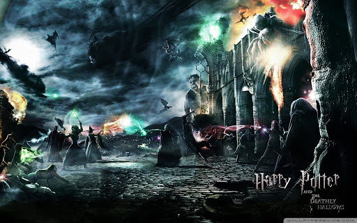 HD desktop wallpapers harry potter deathly hallows