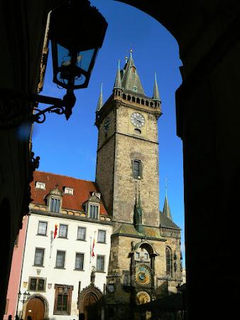 Obiective turistice Cehia: Turnul cu ceas