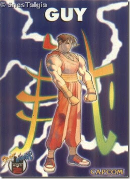 Guy 1 - Card Street Fighter Zero 2