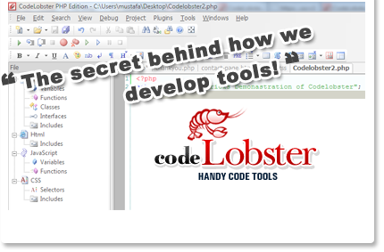 Codelobster a perfect php editor
