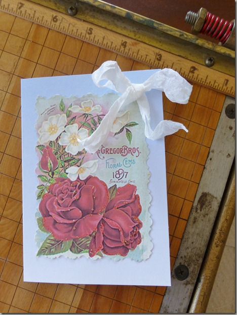 cards rose 034