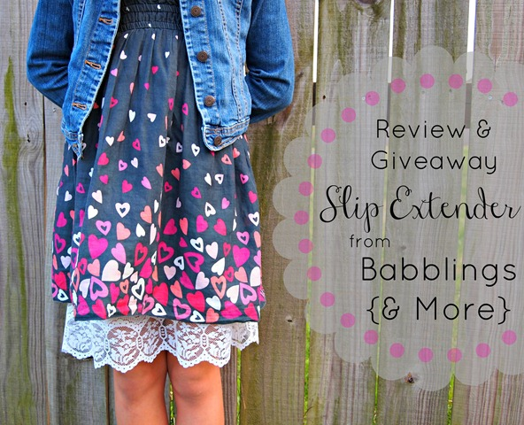 slip extender giveaway from Babblings & More