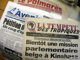 Journaux-RDCongo, 20 janvier 2011.