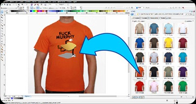 visualizar-camisetas-en-corel-draw