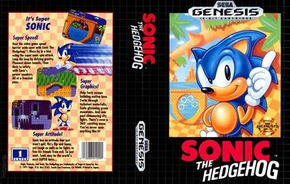 Sonic The Hedgehog NA art