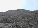 Approaching the crater area on Gunung Marapi (Dan Quinn, June 2013)