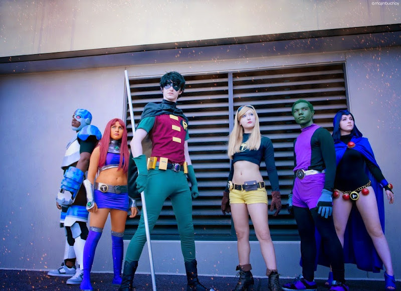 Teen Titans Cosplay by MajinBuchoy on deivantArt