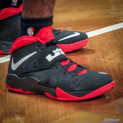 wearing brons nba soldier7 norris cole away pe 1 Norris Cole & Michael Beasley Also Wear Soldier VII PEs