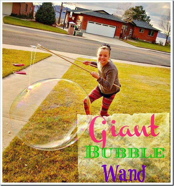 giant bubble wand