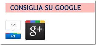 bottono google plusone e profilo