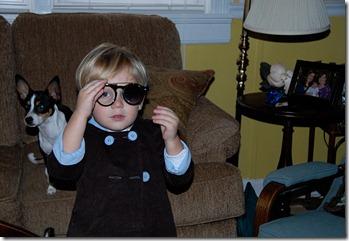 Troy in glasses