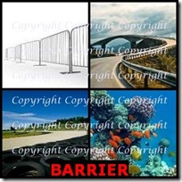 BARRIER- 4 Pics 1 Word Answers 3 Letters