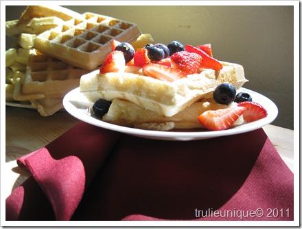 waffles, freezer waffles