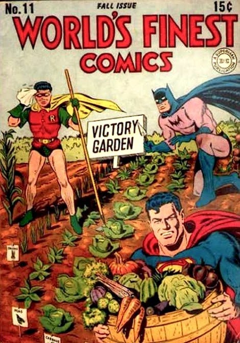Batman Victory Garden