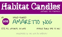 amaretto nog label
