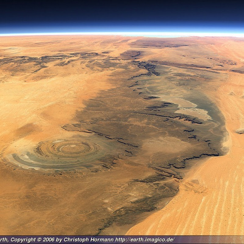 Richat Structure: Eye Of The Sahara