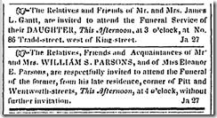 Funeral Invitations 2