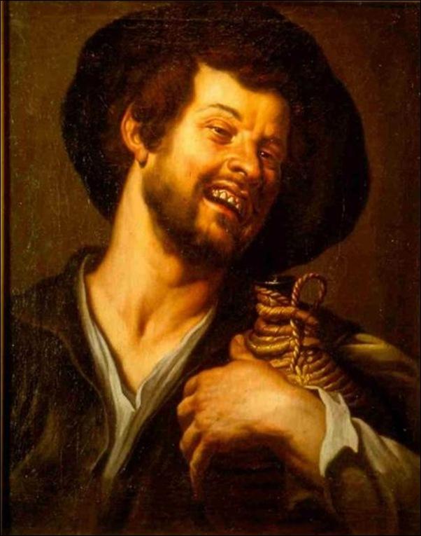 Tête de paysan, Flandres 1625
