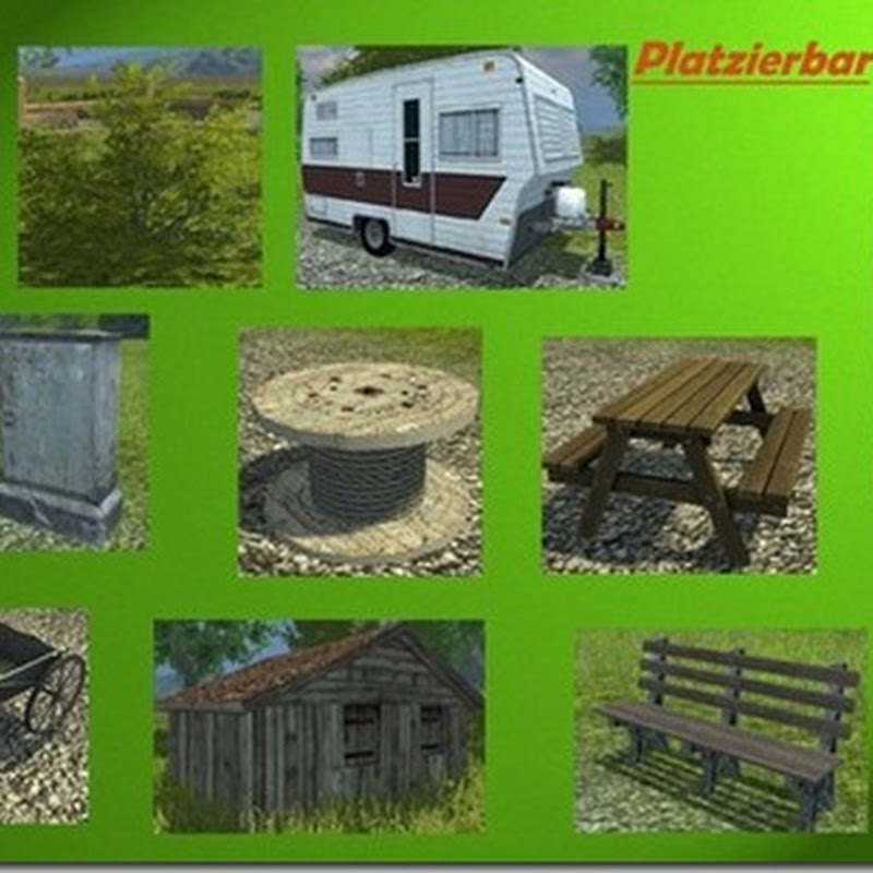 Farming simulator 2013 - Map Details Pack Placeable v 1.0