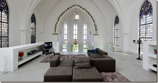 Gothic-Church-Turned-into-White-Contemporary-Home-in-2009-Livingroom-800x421