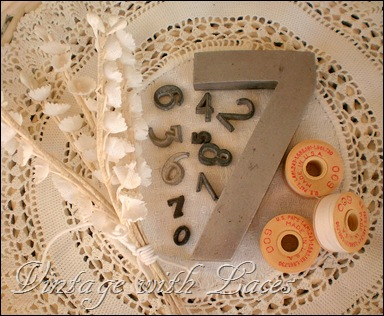 Numbers and bobbins
