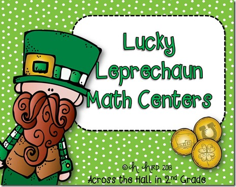 Lucky Leprechaun Math Centers