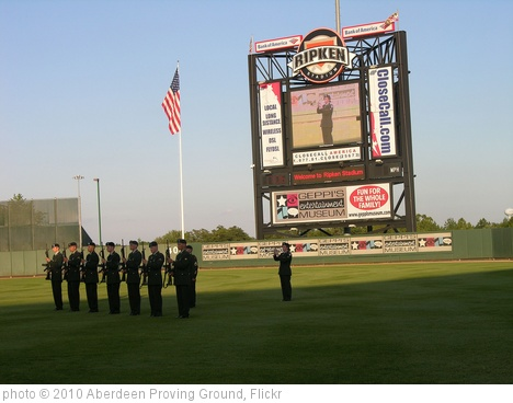 'Ripken Stadium appreciates the military' photo (c) 2010, Aberdeen Proving Ground - license: http://creativecommons.org/licenses/by/2.0/